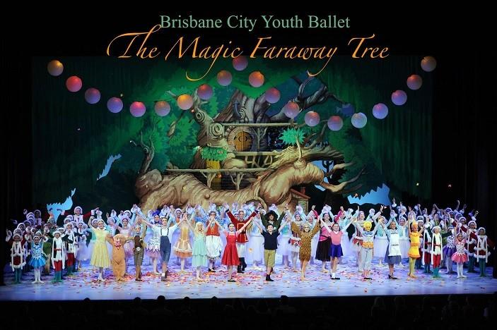 The Magic Faraway tree Brisbane Youth Ballet 2017 January