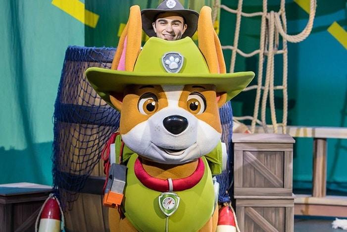 Paw Patrol love new cast member Trekker
