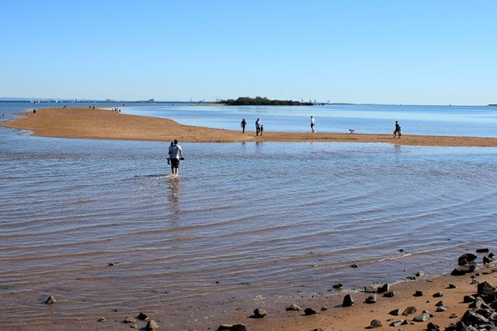 King Island toddler beach