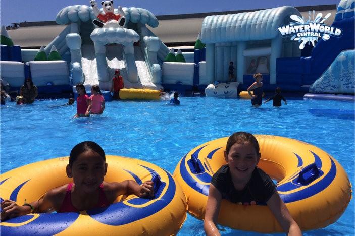 Waterworld Central Brisbane Kids Image_Girls Tubes