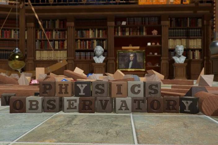 Physics Observatory at QUT The Cube