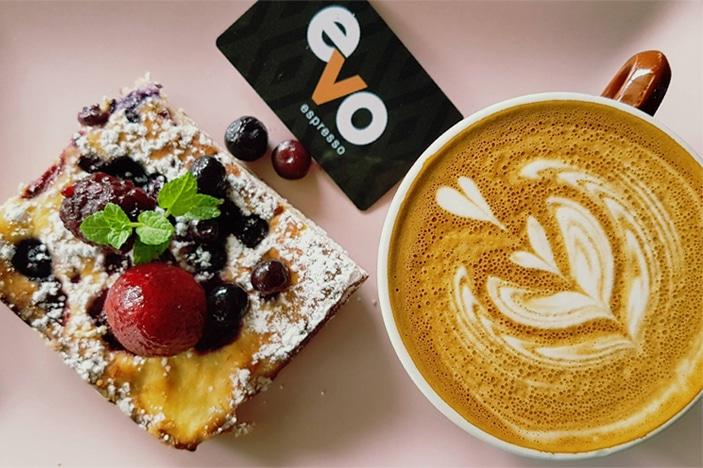 Evo Espresso Child Friendly coffee and cake