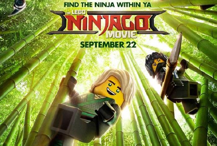 Find the ninja within Lego Ninjago movie