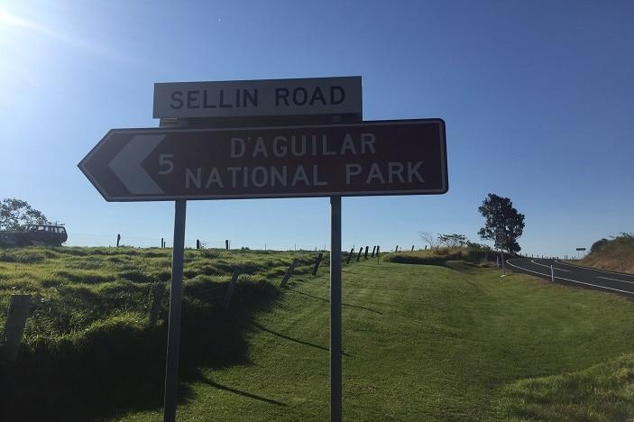 Sign Post for D'Aguilar National Park