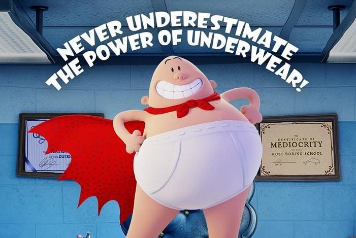 Captain Underpants the movie