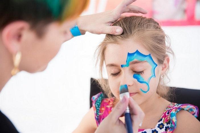face paiting Brisbane Kids Fun Zone Moreton Kids Festival