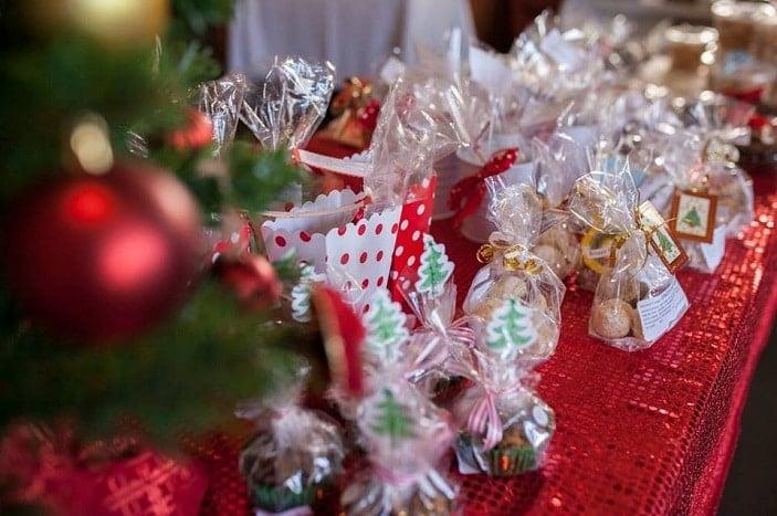 Karuna House annual Christmas Market homemade goodies