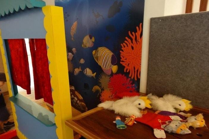 kids creative area bribie island museum