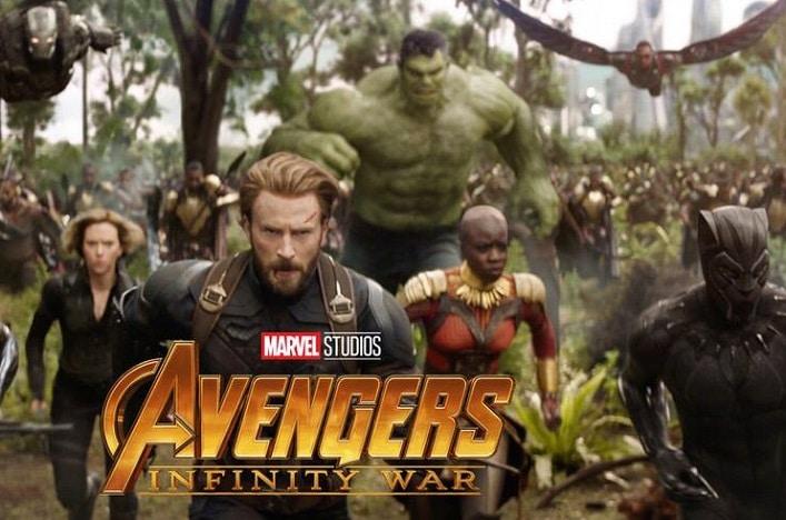 Avengers infinity war poster hulk iron man black panther