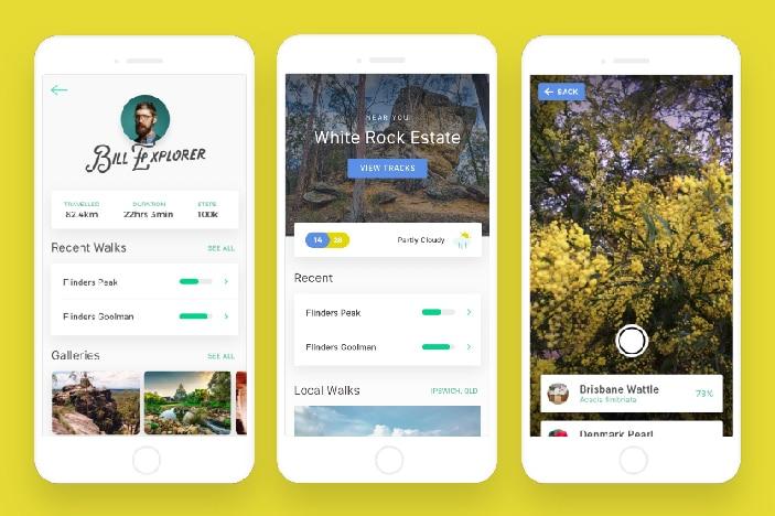 Naeus Explore app, Ipswich City Council, bushwalking app for smartphones