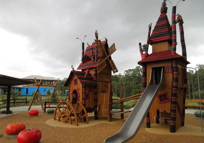 Bray Farm Park Playground In Griffin Brisbane Kids