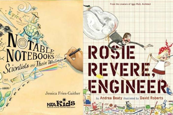 Rosie Revere, Notable Notebooks