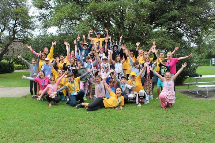 kids happy after kookaburra kids camp