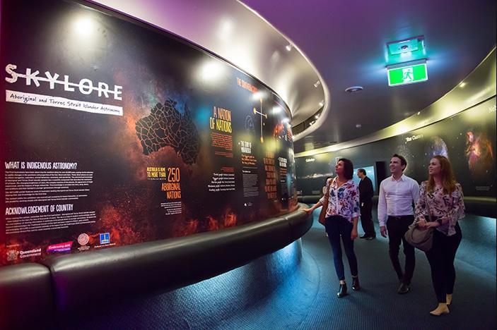 Skylore: Display Zone Exhibit